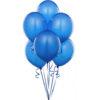 دسته 6تاییی بادکنک آبی هلیومی