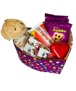باکس هدیه ولنتاین قلبی