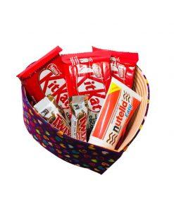 جعبه قلبی شکلات هدیه ولنتاین
