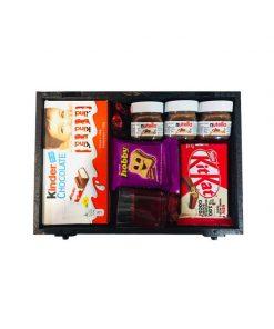 جعبه شکلات ولنتاین چوبی
