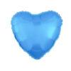 بادکنک قلب فویلی آبی فیروزه ای