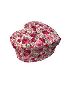 جعبه قلبی طرح گل