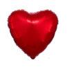بادکنک قلبی قرمز فویلی هلیومی