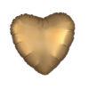 بادکنک فویلی قلب طلایی مات هلیومی