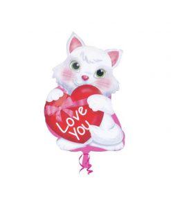 بادکنک گربه هلیومی فویلی