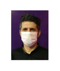 ماسک پرستاری 3لایه سفید