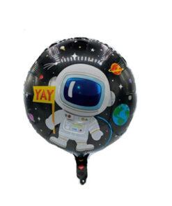 بادکنک فویلی هلیومی فضانورد