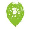 بادکنک سبز هلیومی تم حیوانات