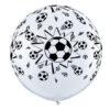 بادکنک توپ فوتبال هلیومی کروی
