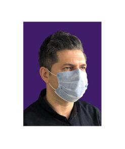 ماسک 3لایه ابی پرستاری