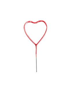 فشفشه قلبی قرمز