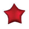 بادکنک فویلی ستاره قرمز هلیومی