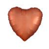 بادکنک فویلی قلبی مسی هلیومی