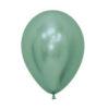 بادکنک کروم سبز هلیومی