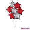 بادکنک فویلی ستاره هلیومی
