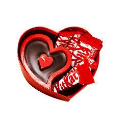 جعبه قلبی هدیه