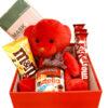 باکس کادویی قرمز عروسکی