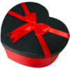 جعبه کادویی قلبی قرمز بزرگ