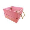 جعبه چوبی کادویی صورتی